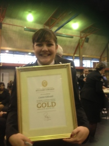 Lauren turned 21 and got her Duke of Edinburgh Gold Award