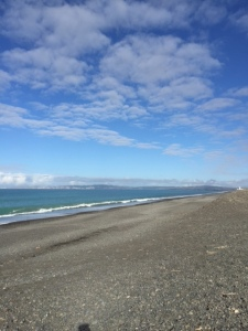 Beach at Napier