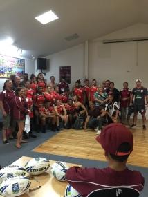 Group photo after training at Papakura